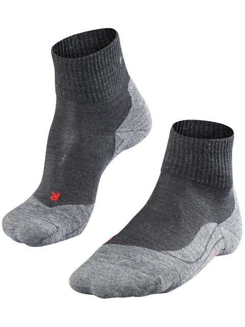 Falke M's TK5 Short Trekking Socks Asphalt Melange